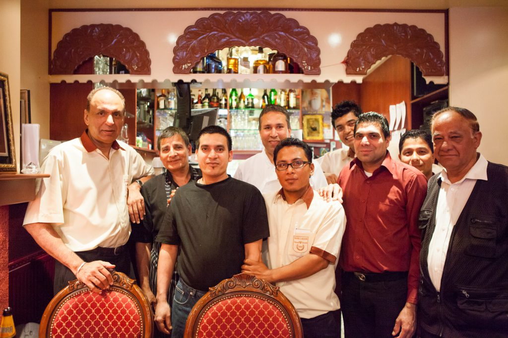 Staff Koh-i-Noor Indian Restaurant Amsterdam
